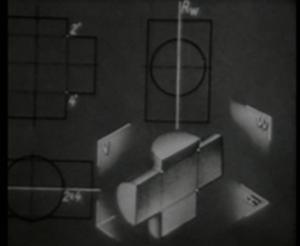 Начертательная геометрия. Взаимное пересечение поверхностей простых форм
