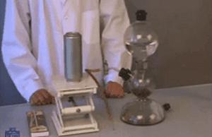 Научфильм. Взаимодействие кислорода с водородом