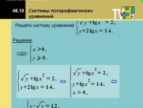 Подготовка для абитуриентов. Алгебра 11 класс. Системы показательных и логарифмических уравнений